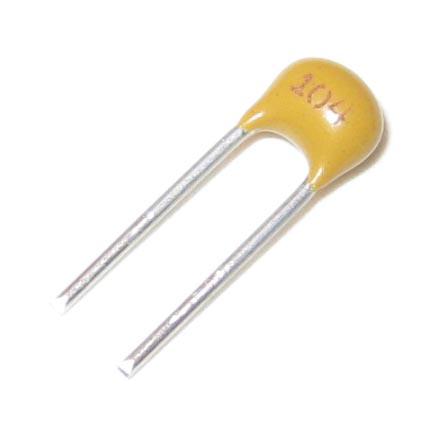 0 1uf 50v Ceramic Capacitor Radial
