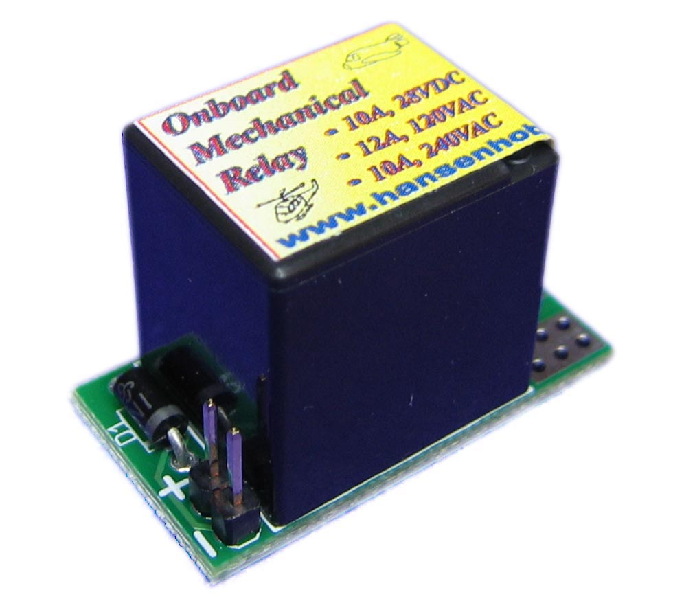 Hansen Hobbies Onboard Mechanical Relay DISCONTINUED - Basic of relay pdf